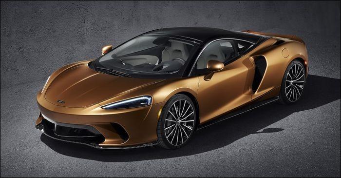Quel est le modèle de cette McLaren ?