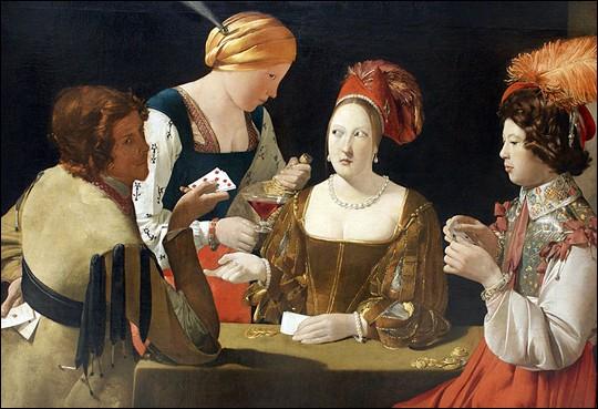 Art - Quel tableau réalisé par Georges de La Tour est considéré comme l'un des chefs-d'oeuvre de la peinture française ?