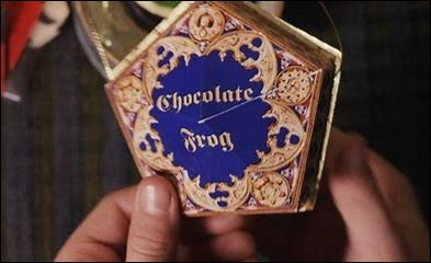 Quel personnage Harry gagne-t-il dans la carte de sa 1re chocogrenouille ?