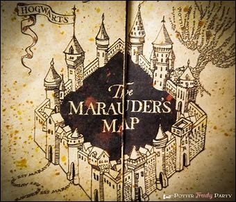 Quelle est la phrase qu'il faut dire pour activer la carte du Maraudeur ?
