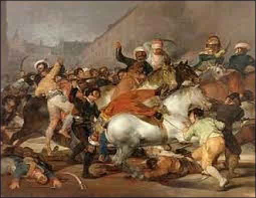 Inspiré d'une scène de bataille en Algérie, ''Bataille de cavaliers arabes autour d'un étendard'' est une huile sur toile datée de 1854. Quel orientaliste est l'auteur de cette peinture ?