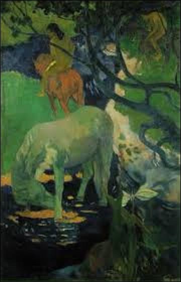 ''Le Cheval blanc'' est un tableau aujourd'hui conservé au musée d'Orsay. Quel postimpressionniste a exécuté cette toile en 1898 ?