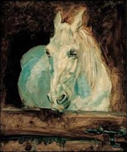 Exécuté en 1881, ''La Blanche Gazelle'' est une toile d'un postimpressionniste. De ces trois peintres de ce mouvement, lequel a réalisé ce tableau ?