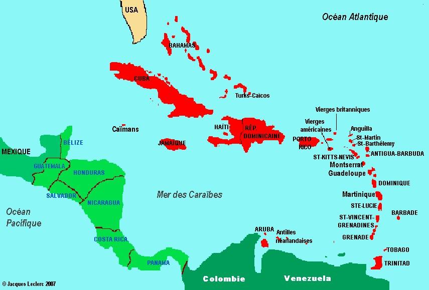 Géographie Ép. 16 - Les Antilles