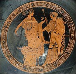 Le jour de sa naissance, Hermès avait volé le troupeau d'Artémis.