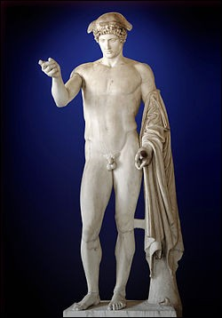 Hermès était le dieu du commerce.