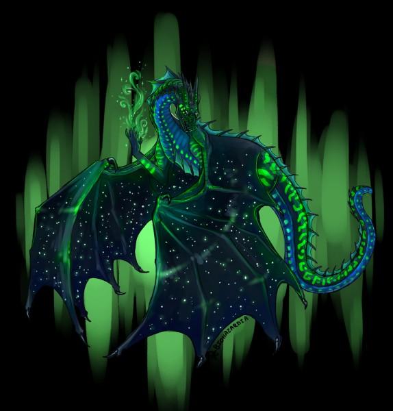 Quel est le premier dragon que Tsunami et Argil découvrent en sortant de la grotte ?