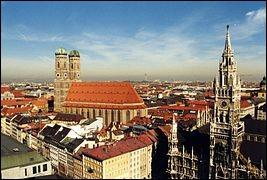 Comment s'appelle la grande ville et la capitale du land de Bavière ?