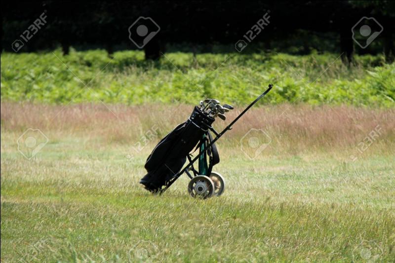 Combien de roues comporte un chariot de golf ?