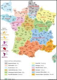 Quel est le nombre de régions de France ?