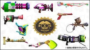 Quelle est ton arme favorite entre celles-ci ?