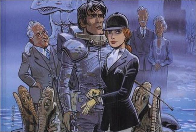 Quel est le château écossais qui abrite un relais temporel dans une aventure de «Valerian, agent spatio-temporel» ?
