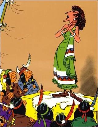 Lequel de ces héros de BD rencontre Sarah Bernhardt (photo), le juge Roy Bean et Billy the Kid lors de ses aventures ?