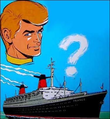 Sur quel grand bateau Ric Hochet a-t-il résolu une énigme ?