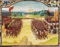 Enfin couronné et sacré, bientôt victorieux et comblé en amour, notre Charles s'occupe un peu de son royaume. Par l'ordonnance de Louppy le Châtel du 26 mai 1445, Charles VII crée les compagnies d'ordonnance. Savez-vous ce qu'elles sont ?