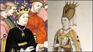 Sur ce tableau, il a environ cinquante ans puisqu'il est né le 22 février 1403, à Paris. Quels sont ses parents ?