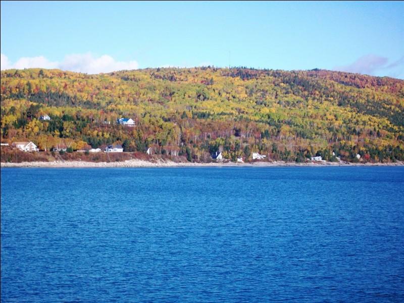 Parmi ces villes canadiennes, laquelle n'est pas traversée par le fleuve Saint-Laurent ?