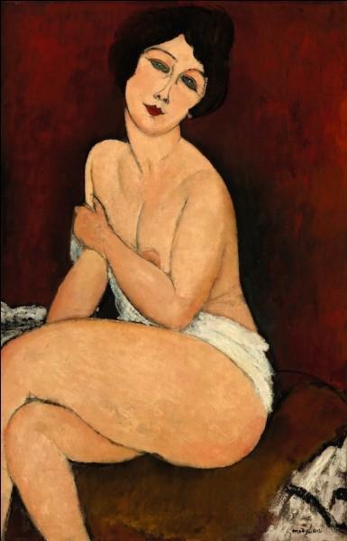 """Quel peintre du début XXe a réalisé la tableau """"La belle romaine"""" ?"""