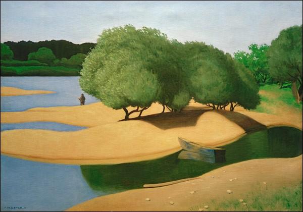 """""""Bancs de sable sur la Loire"""" est l'œuvre de quel peintre ?"""