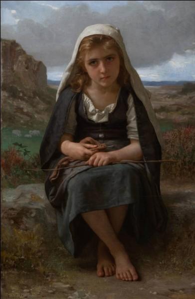 """Quel peintre est l'auteur du tableau """"La bergère"""" ?"""