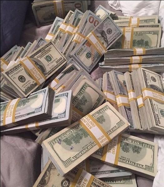 Si tu gagnais 1 million d'euros, qu'en ferais-tu ?