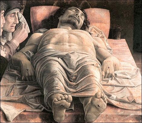 Qui a peint le 'Christ mort'?