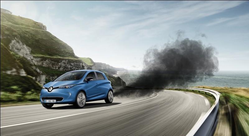 Pour commencer, quel gaz dangereux est rejeté par la voiture par exemple ?