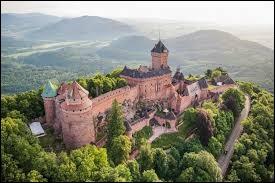 Ce château se situe en Alsace.