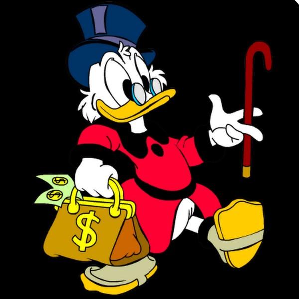 Quel est ce richissime canard anthropomorphe, oncle de Donald Duck ?