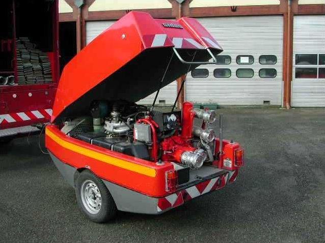 Les véhicules des sapeurs-pompiers (1)