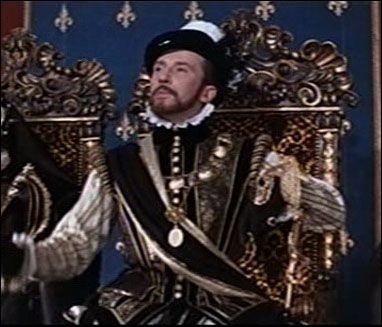 """Quel roi apparaît ici, joué par Raymond Gérôme, dans le film""""La Princesse de Clèves"""" ?"""