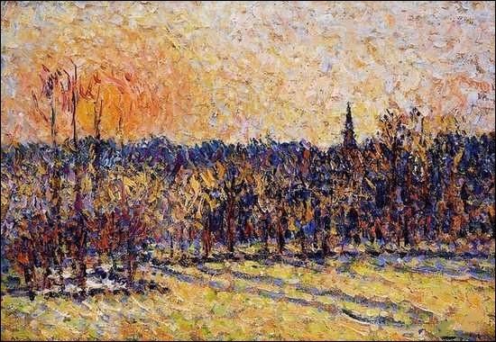 Décédé le 13 novembre 1903, qui est ce grand peintre dont vous pouvez admirer une toile célèbre ?