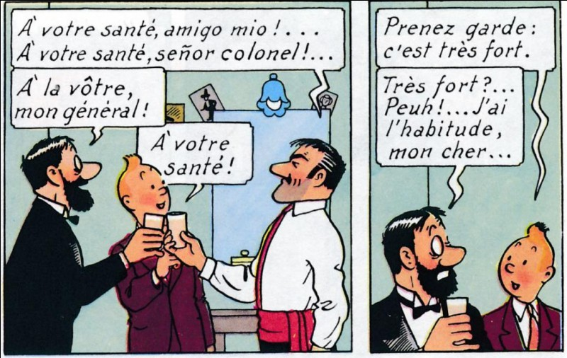 Quel alcool est l'eau-de-vie du San Theodoros ?