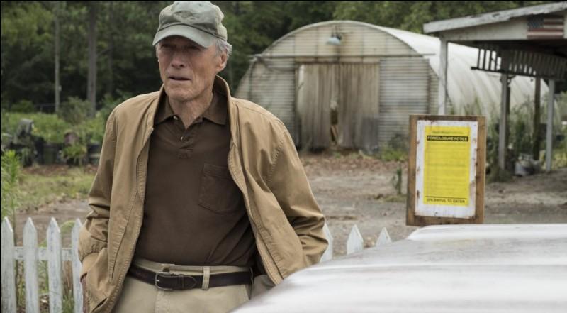 Film de et avec Clint Eastwood, horticulteur à la peine !