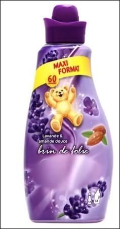 Quelle marque d'adoucissant pour linge utilise un ourson dans ses publicités ?