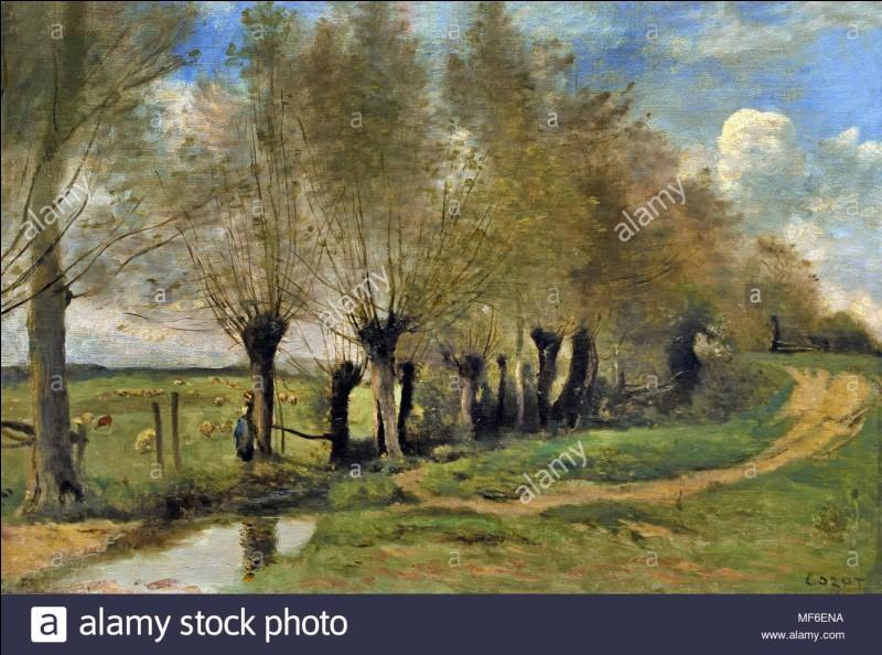 À quel artiste arrivait-il de signer une imitation de ses propres tableaux pour procurer quelque revenu à un peintre dans le besoin ?