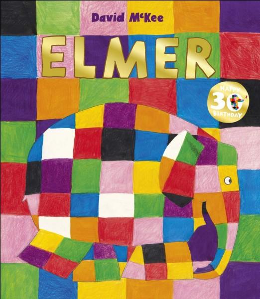 De quelle couleur est Elmer l'éléphant ?
