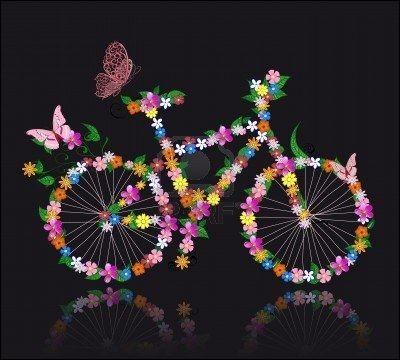 De quelle couleur était la bicyclette de Régine Deforges ?
