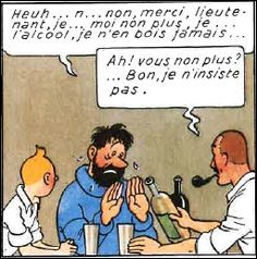 Dans quel album le capitaine Haddock promet-il a Tintin d'arrêter de boire ?