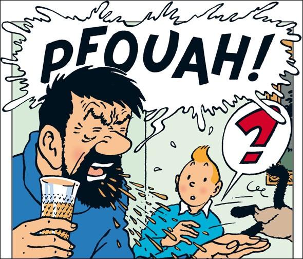 """Quels animaux souffrent d'alcoolisme dans """"Tintin et les Picaros"""" ?"""