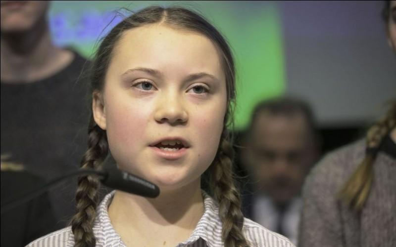 Quelle est l'orthographe correcte du nom de cette jeune activiste suédoise qui lutte pour la protection de l'environnement ?