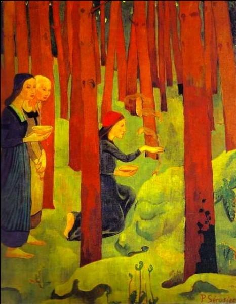 """Il fit partie des nabis. Qui a peint """"L'Incantation"""" ?"""