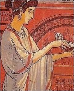 """Un livre qui parle d'une jeune femme vivant à Rome, à l'époque des catacombes s'intitule """"..."""""""