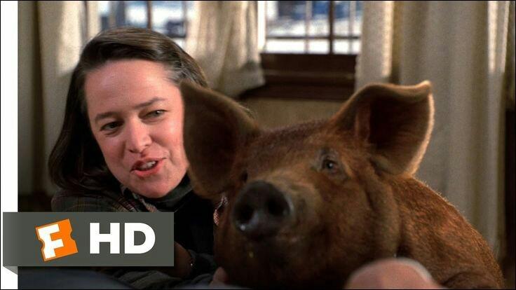 Comment Annie Wilkes a-t-elle nommé son cochon ?