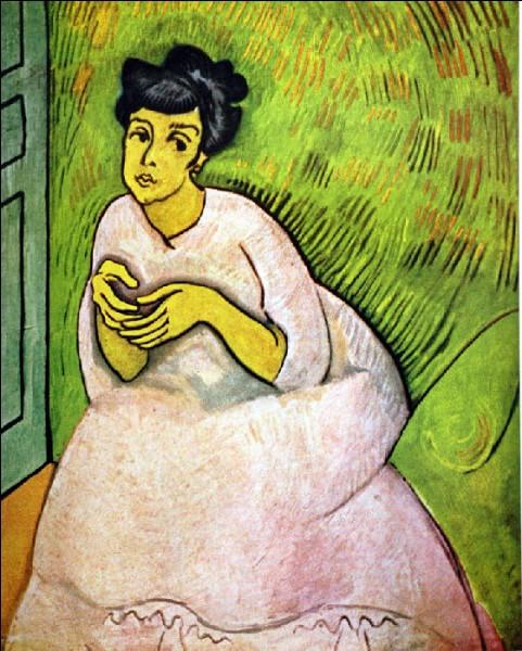 """Qui est """"La dame en rose"""" représentée sur cette toile ?"""