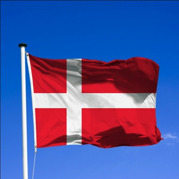 Ce drapeau est celui du/de l'(a) ..