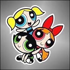 """Dans le dessin animé """"Les Supers Nanas"""", quelle est la couleur de celle qui s'appelle Rebelle ?"""