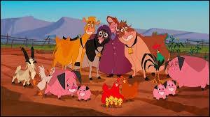 """En quelle année est sorti le film d'animation Disney """"La ferme se rebelle"""" ?"""