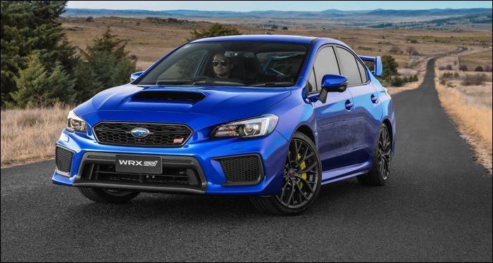 Quel est le modèle de cette Subaru ?