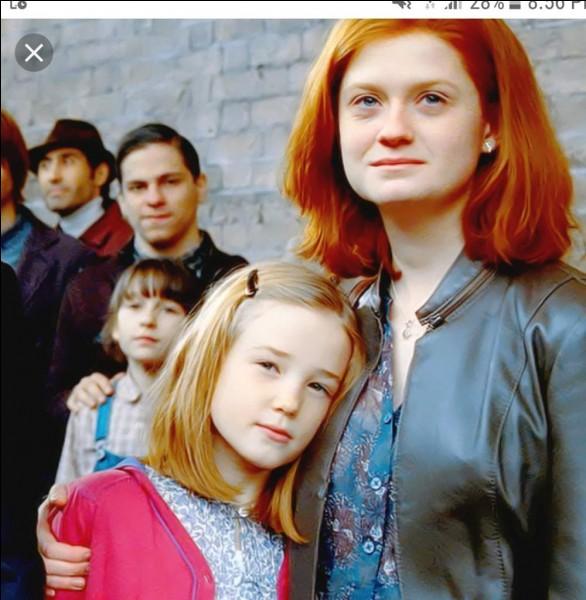 Le deuxième prénom de la fille de Harry, Lily c'est :